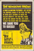 "Movie Posters:Mystery, Ten Little Indians & Other Lot (Seven Arts, 1966). One Sheet& Spanish Language One Sheet (27"" X 41""). Mystery.. ... (Total:2 Items)"