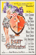 "Movie Posters:Exploitation, The Beat Generation (MGM, 1959). One Sheet (27"" X 41""). Exploitation.. ..."