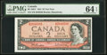 Canadian Currency, BC-38bT $2 1954 Test Note.. ...