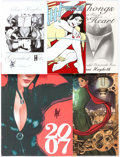 Books:Miscellaneous, Adam Hughes Related Magazine and Digest Format Books Group of 5(Various Publishers).... (Total: 5 Items)
