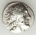 Ancients:Greek, Ancients: PTOLEMAIC EGYPT. Ptolemy II Philadelphus (285/4-246 BC).AR tetradrachm (14.21 gm). Choice VF, brushed, punches,scratches....