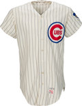 Baseball Collectibles:Uniforms, 1970 Billy Williams Game Worn Chicago Cubs Jersey, MEARS A9....