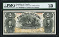 Canadian Currency, DC-13a $1 1898.. ...