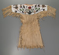 American Indian Art:Beadwork and Quillwork, A Plateau Beaded Hide Dress. c. 1915...