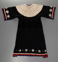 American Indian Art:Beadwork and Quillwork, A Sioux Wool Trade Cloth Dress . c. 1890...