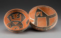 American Indian Art:Pottery, Two Four-Mile Polychrome Bowlsc. 1100 - 1300 A...