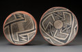 American Indian Art:Pottery, Two Gila Polychrome Bowls. c. 1300 - 1450 AD. ... (Total: 2 Items)