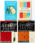 Books:Miscellaneous, Jules Feiffer Books Group of 5 (Various Publishers).... (Total: 5 Items)