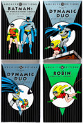 Books:Superhero, DC Archive Editions Batman-Related Group of 4 (DC, 1990s)Condition: Average NM-.... (Total: 4 Items)