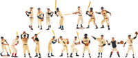 1958-1962 Hartland Baseball Statues Complete Set of 18