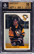 "Hockey Cards:Singles (1970-Now), 1985 O-Pee-Chee Mario Lemieux #9 Beckett Pristine 10 - With Three ""10"" Subgrades! ..."
