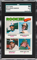 Baseball Cards:Singles (1970-Now), 1977 Topps Andre Dawson - Rookie Outfielders #473 SGC 98 Gem 10 - Pop One, None Higher! ...