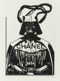 Fine Art - Work on Paper:Print, Ben Frost (Australian, b. 1975). Fashion Victim (DarthVader), 2016. Ink jet on Moab Entrada rag paper. 24 x 18 inches(...