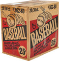 Baseball Cards:Unopened Packs/Display Boxes, 1980 Topps Baseball Unopened Wax Case With Twenty 36-Count Wax Boxes! . ...