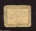 Colonial Notes:Maryland, Maryland August 14, 1776 $2 Very Good....