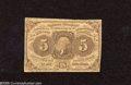 Fractional Currency:First Issue, Fr. 1230 5c First Issue Very Good. A well margined and problem free example of this first issue type....