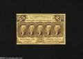 Fractional Currency:First Issue, Fr. 1282 25c First Issue Very Fine. This without monogram variety is 35 times scarcer than Fr. 1281 of the same design. Bett...
