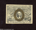 Fractional Currency:Second Issue, Fr. 1244 10c Second Issue Choice New. A stray mounting tab is evident on this second issue type note which is well margined ...