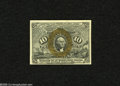 Fractional Currency:Second Issue, Fr. 1246 10c Second Issue Very Choice New. Three huge margins are found on this scarcer Friedberg number that has bright bro...
