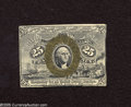 Fractional Currency:Second Issue, Fr. 1283SP Narrow Margin Face 25c Second Issue Choice New. A wonderful example of a second issue narrow margin face specimen...