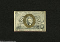 Fractional Currency:Second Issue, Fr. 1284 25c Second Issue Choice About New. Nice bronzing encircles Washington on this note that has a strip of light maroon...