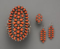 American Indian Art:Jewelry and Silverwork, Three Navajo Jewelry Items. c. 1995. ... (Total: 3 Items)