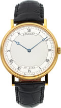 Timepieces:Wristwatch, Breguet Very Fine Ref. 5157 Yellow Gold Classique Gent's AutomaticWristwatch. ...