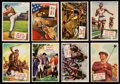 "Olympic Cards:General, 1954 Topps ""Scoops"" Partial Set (127/156) and 1956 Topps Jets (2)...."