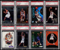 Basketball Cards:Lots, 1998 Vince Carter PSA Graded Rookie Collection (8)....