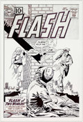 Original Comic Art:Covers, Flash #123 Cover Recreation Original Art (undated)....