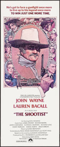"Movie Posters:Western, The Shootist (Paramount, 1976). Trimmed Insert (14"" X 35""). RichardAmsel Artwork. Western.. ..."