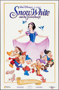 """Movie Posters:Animation, Snow White and the Seven Dwarfs (Buena Vista, R-1987). 50thAnniversary Posters (2) (23"""" X 35"""") 2 Styles. Animation.. ...(Total: 2 Items)"""