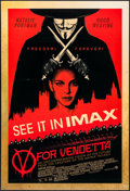 """Movie Posters:Action, V for Vendetta (Warner Brothers, 2005). One Sheet (27"""" X 40""""). DS IMAX Style. Action.. ..."""