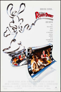 "Who Framed Roger Rabbit & Other Lot (Buena Vista, 1988). Rolled, Very Fine. One Sheets (2) (27"" X 40""..."