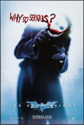 """Movie Posters:Action, The Dark Knight (Warner Brothers, 2008). One Sheet (27"""" X 40"""") DS Advance Style A. Action.. ..."""