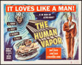 """Movie Posters:Science Fiction, The Human Vapor (Brenco, 1964). Half Sheet (22"""" X 28""""). ScienceFiction.. ..."""