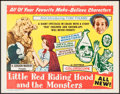 "Movie Posters:Fantasy, Little Red Riding Hood and the Monsters (K. Gordon Murray, 1964).Half Sheet (22"" X 28""). Fantasy.. ..."