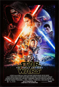 "Movie Posters:Science Fiction, Star Wars: Episode VII - The Force Awakens (Walt Disney Studios,2015). One Sheet (27"" X 40""). DS Advance. Science Fiction...."