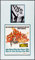 "Movie Posters:War, The Dirty Dozen (MGM, 1967). Matted Window Card (14"" X 22"") &Autographed Photo (8"" X 10"") Frank McCarthy Artwork. War.. ..."