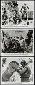 """Movie Posters:Fantasy, Jason and the Argonauts (Columbia, R-1978/1963). Autographed Photos(3) (8"""" X 10"""") & Lobby Card (11"""" X 14""""). Fantasy.. ... (Total:4 Items)"""