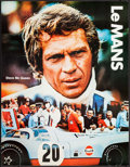 "Movie Posters:Sports, Le Mans (Cinema Center Films, 1971). Special Poster (17"" X 22""). Sports.. ..."