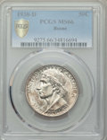 Commemorative Silver, 1938-D 50C Boone MS66 PCGS Secure. PCGS Population: (189/82 and 9/8+). NGC Census: (123/34 and 4/3+). CDN: $600 Whsle. Bid ...