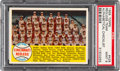 Baseball Cards:Singles (1950-1959), 1958 Topps Redlegs Team (Alphabetical Checklist) #428 PSA Mint 9 -None Higher....