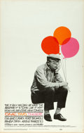 """Movie Posters:Comedy, One, Two, Three (United Artists, 1962). Window Card (14"""" X 22"""")Saul Bass Artwork.. ..."""