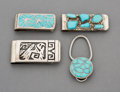 Other, Four Southwest Silver Jewelry Items... (Total: 4 )
