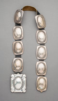 American Indian Art:Jewelry and Silverwork, A Southwest Concho Belt. Frank Patania. c. 1965...