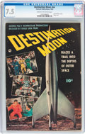 Golden Age (1938-1955):Science Fiction, Fawcett Movie Comic #nn Destination Moon (Fawcett Publications,1950) CGC VF- 7.5 Cream to off-white pages....