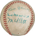 Baseball Collectibles:Balls, 1935 New York Giants Team Signed Baseball. . ...