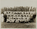 Baseball Collectibles:Photos, 1936 New York Yankees Team Photograph by Thorne, PSA/DNA Type 1. ....