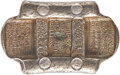 """China, China: Qing Dynasty. Yunnan Five Stamp """"Packsaddle"""" 6 Tael Sycee Remittance IngotCertified XF by HuaXia,..."""